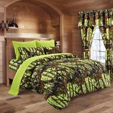 Bed In A Bag Duvet Cover Sets by Lime Camo Bed In A Bag Set The Swamp Company