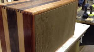 2 12 guitar cabinet solid hardwood custom 2 12 speaker cabinet w mesa subway r youtube