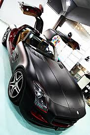 why are mercedes so expensive eagle auto matte black and glossy gull wing car for