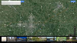 Map Of Mansfield Ohio by Mansfield Ohio Map