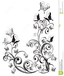 floral ornament vector royalty free stock images image 14137689