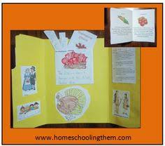 thanksgiving lapbook thanksgiving homeschool curriculum and