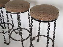 appealing wrought iron bar stools design