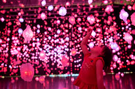 the lights festival houston 2016 pipilotti rist pixel forest and worry will vanish the museum of