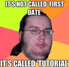 Haha Meme - haha first date