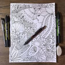 how to draw doodle faces flower designs drawing doodle