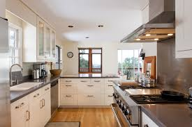Galley Kitchen Lighting Ideas by Kitchen Style Classic Country Galley Kitchen Natural Finishes