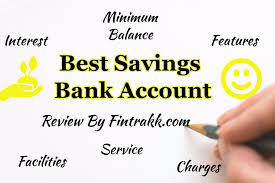 best savings bank account in india interest rate features