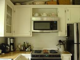 over the range microwave cabinet ideas how to retrofit a cabinet for a microwave