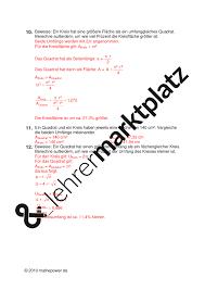 fläche kreis kreis flächeninhalt mathematik