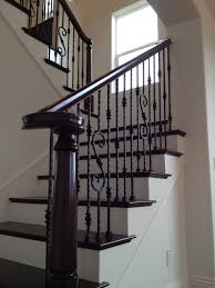 Wrought Iron Stair by Dark Floors Wrought Iron Stairs Home Pinterest Wrought Iron