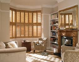 bolton blinds brown shutters living room made to measure