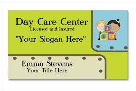 day care business card ideas free u0026 premium templates creative