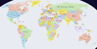 Map Of Islam Around The World by This Fascinating Map Shows The Most Popular Boys U0027 Names Around The