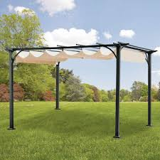 Walmart Bbq Canopy by Replacement Canopy For Naples Pergola Riplock 350 Garden Winds