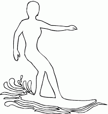 Surfboard Coloring Pages To Print Bltidm Surfboard Coloring Page