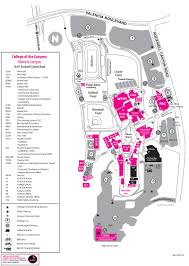 Boston College Campus Map by Valencia Campus Map