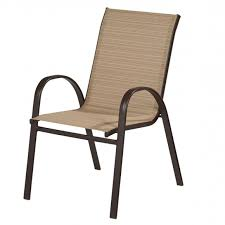 Stackable Sling Patio Chairs Inspiring Hton Bay Mix And Match Stackable Sling Outdoor Dining