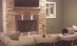 Outdoor Fireplace Houston by Custom Outdoor Kitchen And Fireplaces Stonecraft