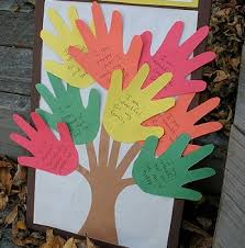 this thanksgiving craft is a great way to teach elementary school