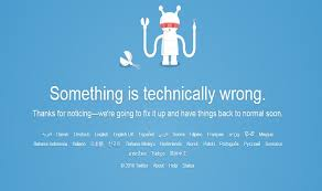 Site Unavailable - twitter down users not able to post on micro blogging site after