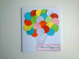 simple birthday paper card handmade gifts diy crafts art tutorials