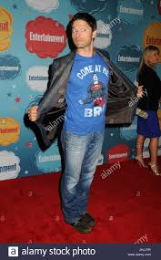 Red Carpet Entertainment Misha Collins Red Carpet Arrivals At U0027entertainment Weekly Hosts
