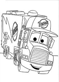 Car Transporter Mack The Truck Coloring Pages Best Place To Color Colouring Pages Of Cars