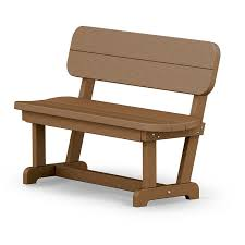 Wholesale Benches Small Plastic Bench With Back Polywood Park U0026 Picnic Series