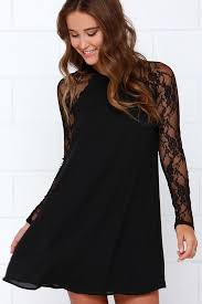 black lace dress black dress lace dress shift dress 49 00
