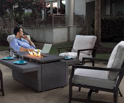 Fire Pit Tables And Chairs Sets - what makes this sunbrella fire pit set special