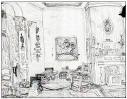 sketch room besf ideas living room drawing sketch idea planning design