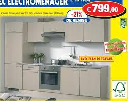 electromenager cuisine encastrable hubo promotion cuisine complète avec électroménager produit