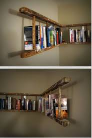 Free Ladder Shelves Woodworking Plans by The 25 Best Wooden Ladder Shelf Ideas On Pinterest Old Ladder
