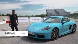 porsche 4 review porsche 718 cayman review has the 4 cylinder engine killed the
