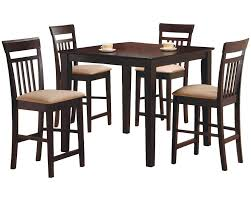 counter dining chairs red barrel studio st brigid 5 piece counter height dining set