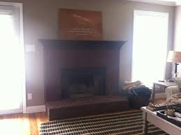 Whitewashing A Fireplace by White Washing An Easy Tutorial