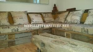 canape rustique rustique canapé d angle construite avec des palettesmeuble en