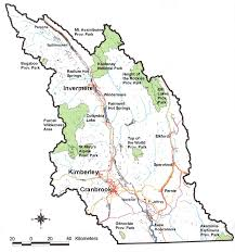 Map Of Bc Ministry Of Forests Lands And Natural Resource Operations