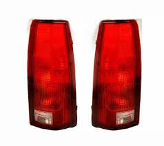 1998 chevy silverado tail lights replacement chevy pickup tail l lens assemblies 88 02