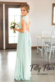 affordable bridesmaids dresses bridesmaid dress in mint filly flair