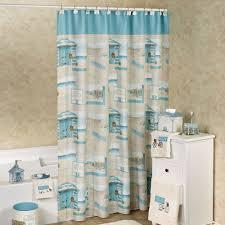 Coastal Shower Curtains Cruiser Coastal Shower Curtain