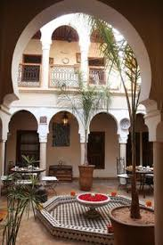 Moroccan Homes Moroccan Riad The Term Has Come To Represent Traditional
