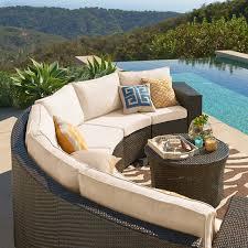 wicker furniture great weatherproof option for your garden