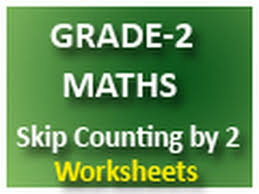 grade 2 maths skip counting by 2 free printable worksheets youtube