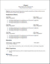 Images Of Job Resumes by Resume Formats