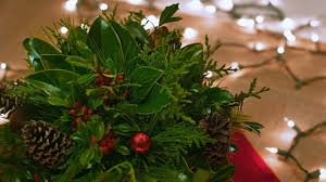 holiday hack evergreen table centerpiece youtube