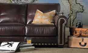 leather sofa outlet stores houston italian top grain leather roll arm sofa the dump luxe
