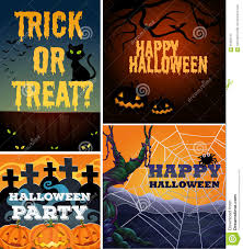 poster design with halloween theme stock vector image 65388741
