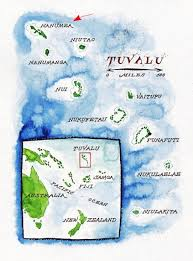 map of tuvalu other nanumea images